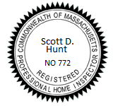 Scott Hunt Home Inspection Licensed
